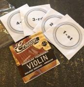 Complete pack echo sonic violin strings